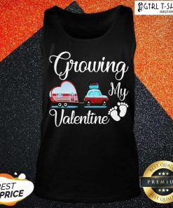 Orginal Growing My Valentine Tank Top-Design By Girltshirt.com