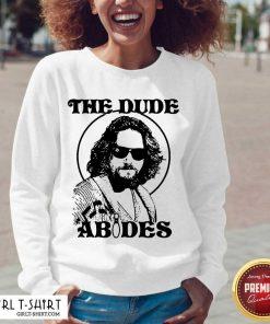 The DuDe Abides V-neck - Design By Girltshirt.com