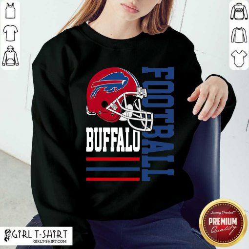 Helmet Of Buffalo Bills Football 2021 Sweatshirt
