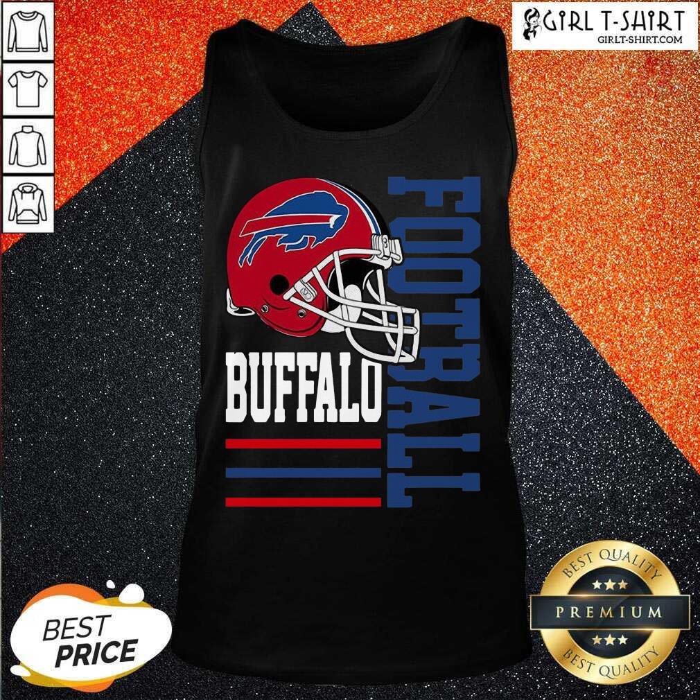 Helmet Of Buffalo Bills Football 2021 Tank Top