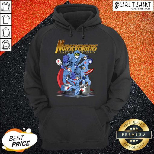 Marvel Avengers Nursevengers Save The World Hoodie