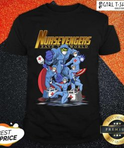 Marvel Avengers Nursevengers Save The World Shirt