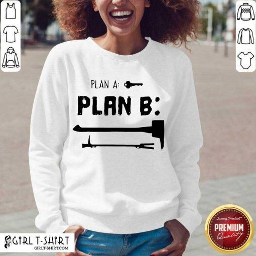 Plan A Plan B V-neck