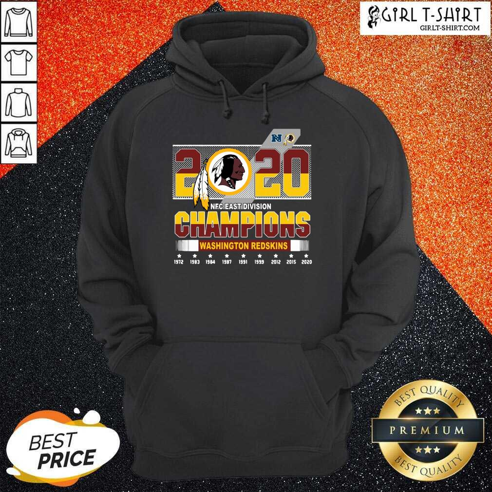 2020 Nfc East Division Champions Washington Redskins 1972 2020 Hoodie-Design By Girltshirt.com