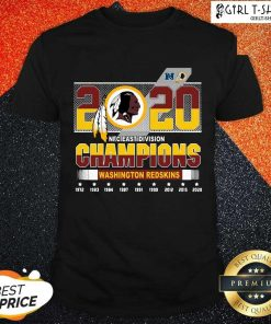 2020 Nfc East Division Champions Washington Redskins 1972 2020 Shirt-Design By Girltshirt.com