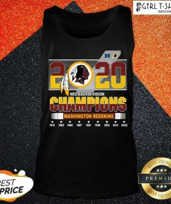 2020 Nfc East Division Champions Washington Redskins 1972 2020 Tank Top-Design By Girltshirt.com
