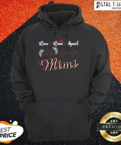 Mimi Live Love Spoil Heartbeat Hoodie - Design By Girltshirt.com