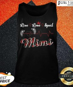 Mimi Live Love Spoil Heartbeat Tank Top - Design By Girltshirt.com