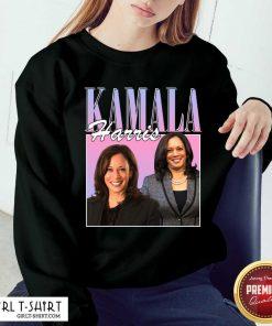 Kamala Harris Rap Hip Hop 90s Retro Vintage Sweatshirt