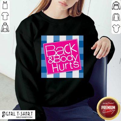 Positive Back Body Nurse 2021 Sweater