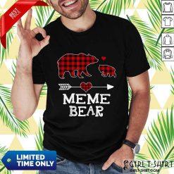 Premium Meme Bear Family Happy 5 Shirt