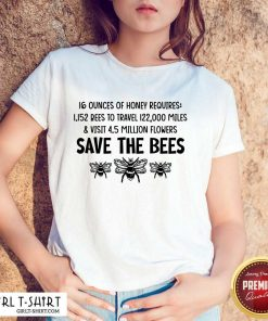 Awesome Save The Bees Shirt