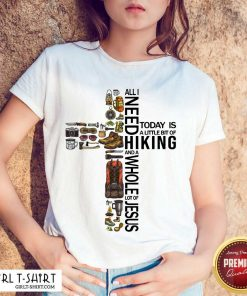 Funny All Need To Day Is Hikinh Whole Jesus Shirt