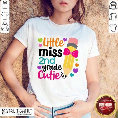 Funny Little Miss 2Nd Grade Cutie Shirt
