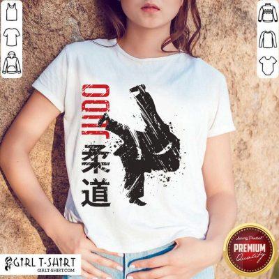 Pretty Judo Kanji Through Shirt