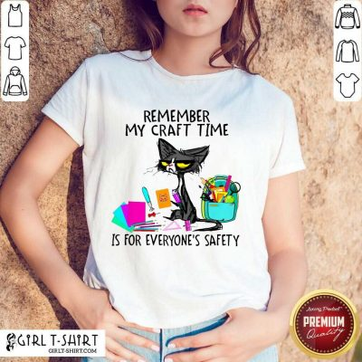 Remember My Craft Time Cat Shirt