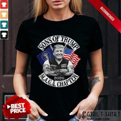 Sons Of Trump 2020 MAGA Chapter Shirt
