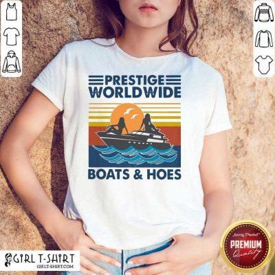 Ocean Prestige Worldwide Boats And Hoes Vintage Retro Shirt